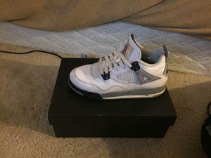 "Air Jordan 4 retro ""white cements"" - authentic size 6.5 for Sale in Nashville, TN"