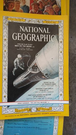 23 National Geographics 1960s for Sale in Rancho Cucamonga, CA