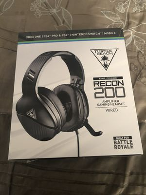 Turtle Beach Recon 200 Headset for Sale in Corona, CA