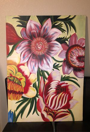 Painting of Pretty Flowers for Sale in Fountain, CO