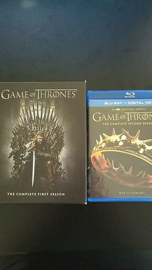 Game of Thrones Seasons 1 & 2 Blurays for Sale in Westminster, CO
