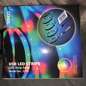 USB LED LIGHT STRIP (brand new in box) for Sale in Stockton, CA