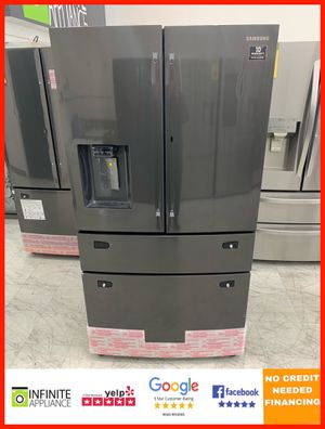 Samsung 4Door French Door Refrigerator (Take it home today with only $39 DOWN. No credIt needed) for Sale in San Jose, CA