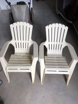 Kids Adirondack Chairs, plastic for Sale in Portland, OR