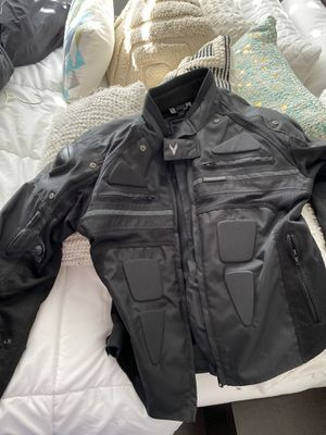 Motorcycle jacket size Large (frank thomas predator) s for Sale in Miramar, FL