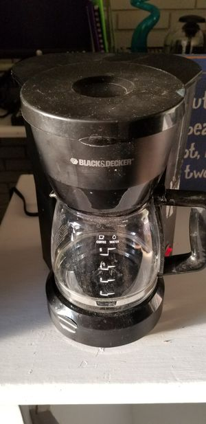 Black & Decker coffee maker for Sale in Atlanta, GA