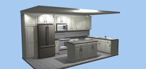 Kitchen cabinets and bath for Sale in Greensboro, NC