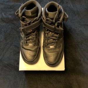 Nike Air Force 1's Black (size 12) for Sale in Lynnwood, WA