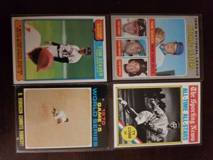 70s Baseball 4 Card lot. for Sale in Lodi, CA