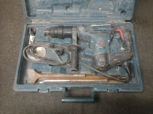 Bosch boschhammer spline combination impact rotary drill hammer rh540s with extras for Sale in Charlotte, NC
