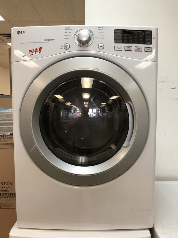 """27"""" NEW SCRATCH AND DENT FRONT LOAD DRYER GAS WITH WARRANTY"""