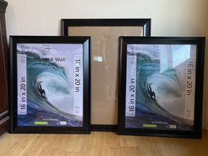 Set of 3 Large Frames - New for Sale in Red Bluff, CA