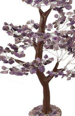 Amethyst Chakra Crystal Fengshui Healing Stones Tree Wood 300 Chips for Sale in Rosedale,  MD