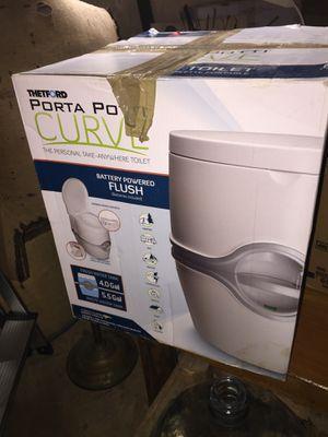 Portable Rv camper toilet bathroom for Sale in Colorado Springs, CO