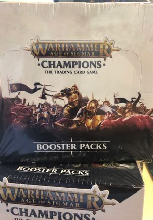 Warhammer champions for Sale in Edmond, OK