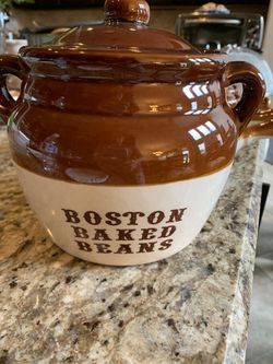 Boston Baked Bean pottery bakeware for Sale in Humble,  TX