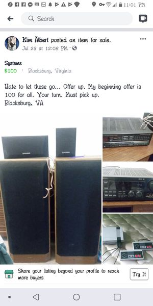 Systems for Sale in Blacksburg, VA
