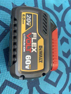 DEWALT FLEXVOLT 20-Volt/60-Volt MAX Lithium-Ion This battery retails for $149+Tax. NO OFFERS precio firme for Sale in Los Angeles, CA