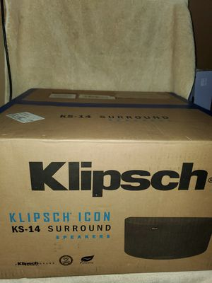 KLIPSCH KS-14 SURROUNDS for Sale in Modesto, CA