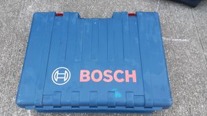 Bosch hammer drill SDS variable vibration control for Sale in Houston, TX