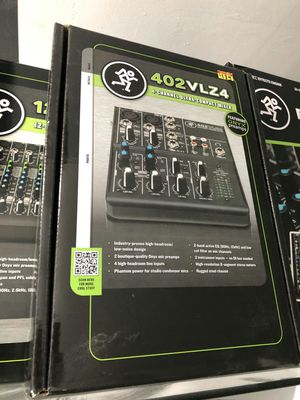 Mackie 402vlz4 on sale today for 89 bucks each for Sale in Downey, CA