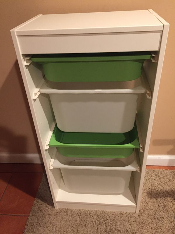 Bookcase and Storage Bins - Must go