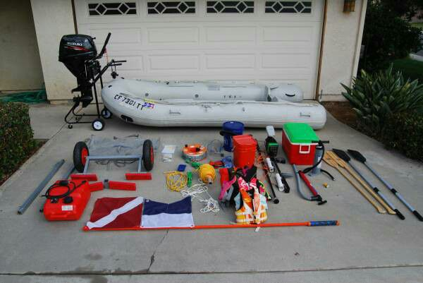 Complete sea Eagle inflatable boat package