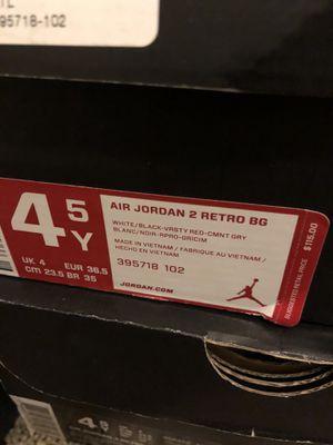 Retro Jordan 2 Deadstock for Sale in Baltimore, MD