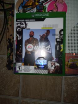 Ufc 4 Xbox One / Series X for Sale in San Angelo,  TX