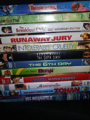 50 like new dvds for Sale in Tacoma, WA
