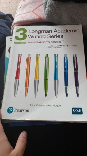 3 long man academic writting for Sale in Cleveland, OH
