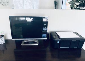 Gateway XHD3000 Monitor, Dell Inspiron i3847 IntelCore i5 Tower, HP Deskjet 1513 (3in1) Printer/Scanner/Fax for Sale in Phoenix, AZ