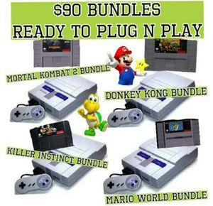 Super Nintendo bundles for Sale in Miami, FL