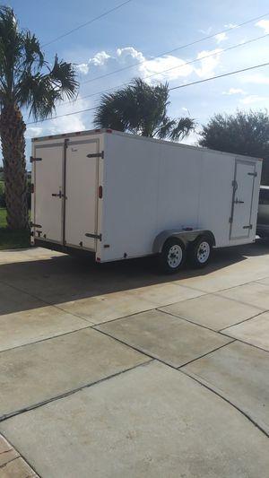 BUILT TOUGH ! 7X 16 ENCLOSED TRAILER for Sale in Lehigh Acres, FL