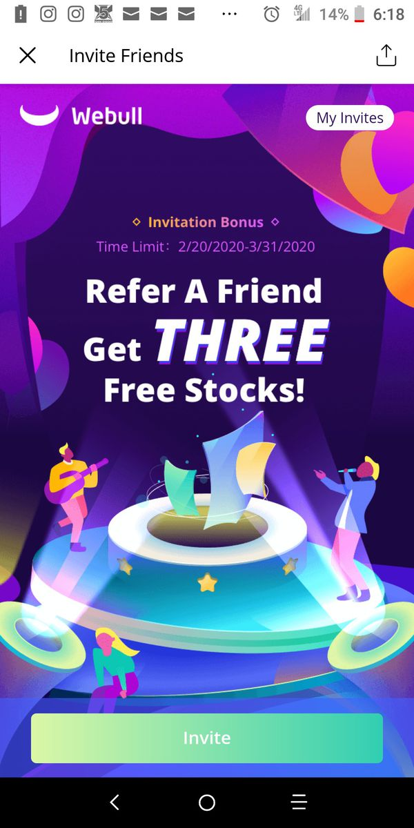 Free Stock , one for you and for me