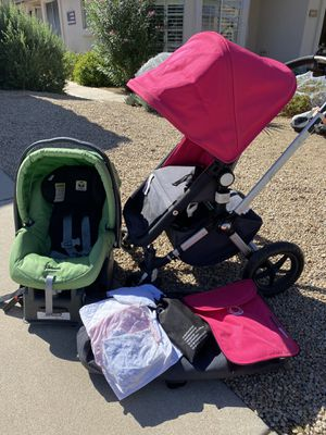 Bugaboo and Peg Perego Stroller and Infant Car Seat for Sale in Cave Creek, AZ