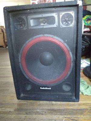 """RadioShack 15"""" speaker for Sale in Philadelphia, PA"""