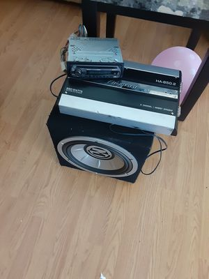 SOUNDS SYSTEM for Sale in Montclair, CA