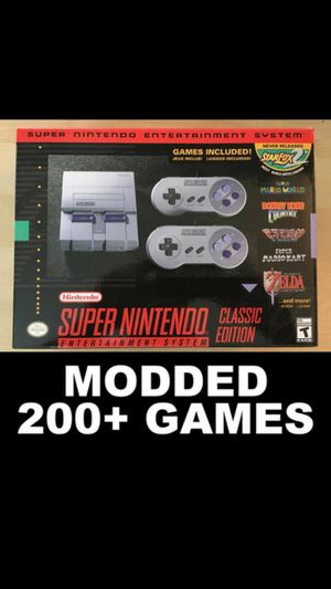 Snes Classic 200+GAMES MOD for Sale in Oceanside, CA