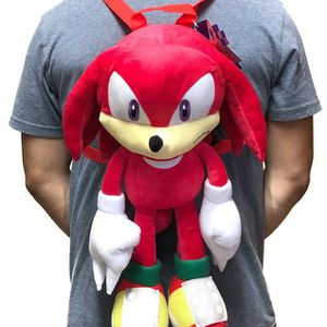 Brand NEW! Knuckles Novelty Plush Backpack/Zippered Pouch For Everyday Use/Parties/Birthday Gifts/Gaming/Toys for Sale in Carson, CA