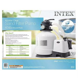 Intex 26651EG 3000 GPH Above Ground Pool Sand Filter Pump with Automatic Timer for Sale in Westminster, CA