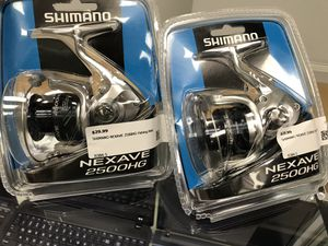 Shimano Nexave 2500HG Fishing Reel for Sale in Ashland, MA