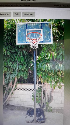 "Lifetime 52"" Steel-Framed Shatterproof Basketball Hoop for Sale in Temple City, CA"