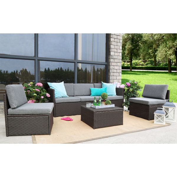 Azure Sky Ask16ch 4 Pieces Outdoor Furniture Complete