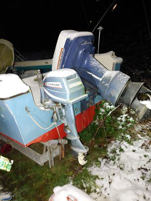 19 ft bayliner with 40hp cash or trade for Sale in Port Orchard, WA