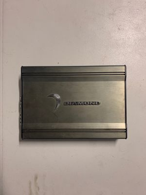 DIAMOND AMPLIFIER FOR CAR AUDIO for Sale in Sugar Land, TX