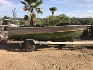 1975 Valco aluminum boat and trailer for Sale in Murrieta, CA