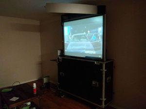 Flight case with built in projector for Sale in Phoenix, AZ