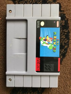 Super Mario World-Original and Authentic Snes Super Nintendo Game for Sale in South San Francisco, CA