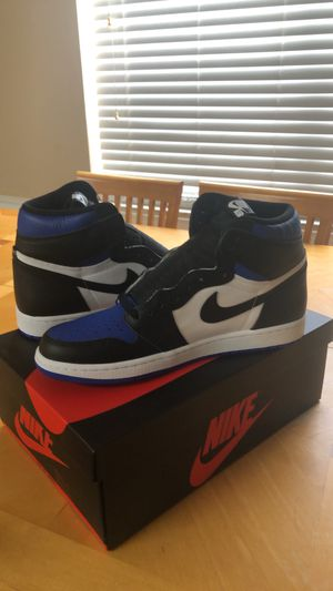 Jordan 1 royal toe size 11 factory defect for Sale in New Port Richey, FL